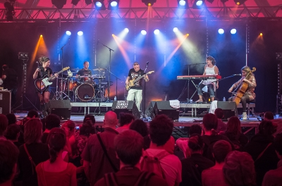 Hoz # photos @ Festival Terres du Son, Monts | 15 juillet 2012