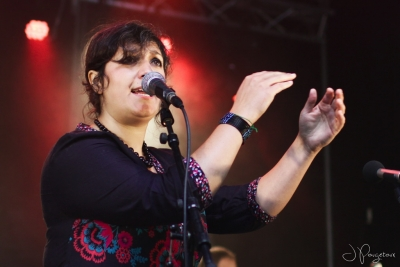 Anita Farmine # photos @ Festival Terres du Son, Monts | 12 juillet 2014
