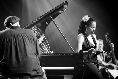 Molly Johnson # photos @ Festival Jazz en Touraine, Montlouis sur Loire | 16 septembre 2014