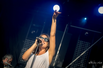 Izia # photos @ Festival Terres du Son, Monts | 10 juillet 2015