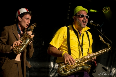 Les Skalators # photos @ Festival Kampagn'arts, Saint Paterne Racan | 27 juin 2015