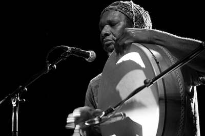 Duo Hamid Drake / Philippe Champion # photos @ Le Petit faucheux, Tours | 9 octobre 2015
