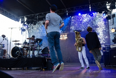 The Fat Bastard Gangband # photos @ Festival les Courants, Amboise | 1 juillet 2016