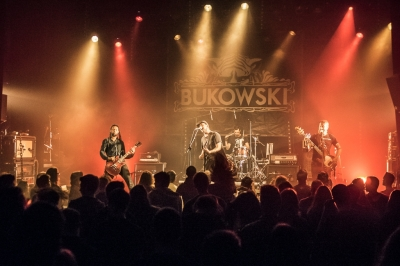 Bukowski # photos @ le Temps Machine, Joué lès Tours | 8 octobre 2016