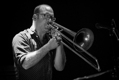 Samuel Blaser Quartet # photos @ Festival Emergences, Tours | 16 novembre 2016