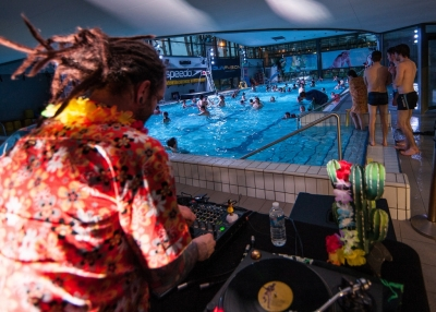 Allotropique, Swimming cool party # photos @ Piscine du lac, Tours | 03 février 2018
