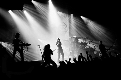 Epica # photos @ Festival Le Printemps de Bourges | 22 avril 2011