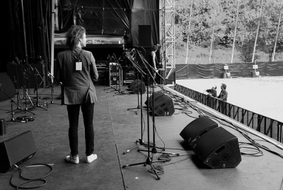 Les backstages # photos @ Festival Terres du Son, Monts | 8 au 10 juillet 2011