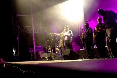 Tower Of Power # photos @ Festival Terres du Son, Monts | 9 juillet 2011