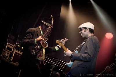 Earl Green & The Memphis Blues Caravan # photos @ Festival Blues in Chédigny | 11 août 2012
