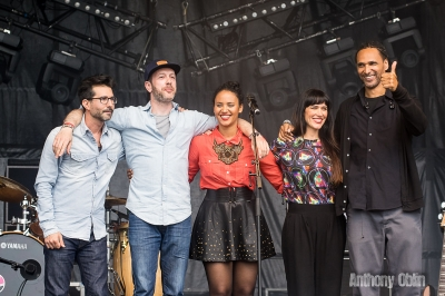 Mayra Andrade # photos @ Festival Terres du Son, Monts | 13 juillet 2014
