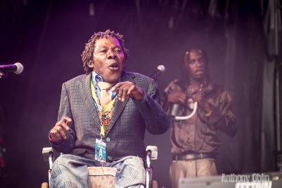 Staff Benda Bilili # photos @ Festival Terres du Son, Monts | 12 juillet 2014