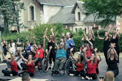 Handy-Danse # photos @ Festival Terres du Son, Monts | 11 juillet 2015