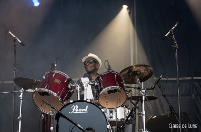 Tony Allen # photos @ Festival Terres du Son, Monts | 12 juillet 2015