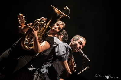 Les Ogres de Barback # photos @ La Pléiade, La Riche | 16 octobre 2015
