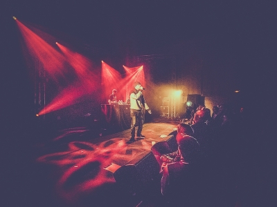 Don Choa & Dj Djel aux Rockomotives # photos @ Chapelle St Jacques, Vendôme | 28 octobre 2017