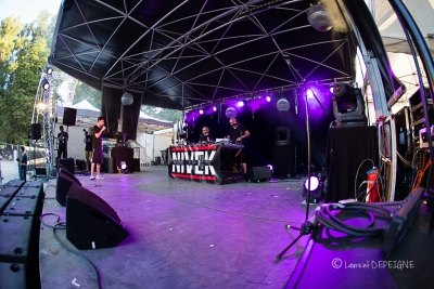 Nivek # photos @ Festival Aucard is not dead, Tours | 13 aout 2016