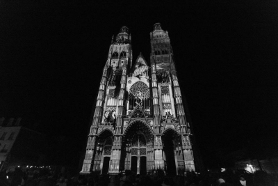 illusions de la cathédrale # photos @ Cathédrale, Tours | 22 aout 2017